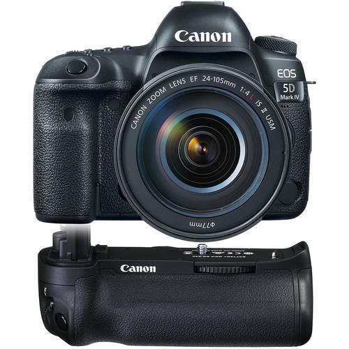 Canon EOS 5D Mark IV DSLR Camera with 24-105mm f/4L II Lens Basic Kit