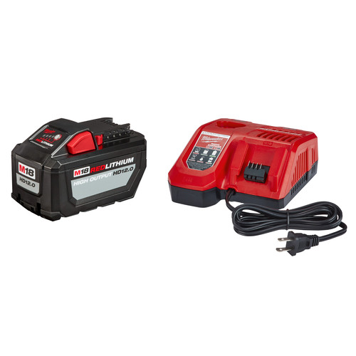 Milwaukee 48-59-1200 M18 REDLITHIUM High Output HD12.0 Starter Kit