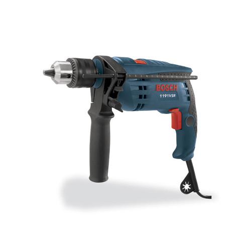 Bosch 1191VSRK 1/2 in. 7 amp Single Speed Hammer Drill