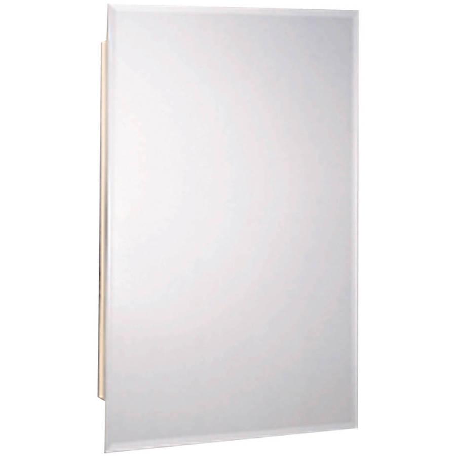 Zenith M119 White Beveled Swing Door Medicine Cabinet