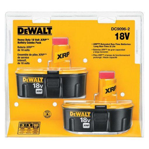 DEWALT 18-Volt xRP NiCd Extended Runtime Pack 2.4 Ah Battery (2-Pack)