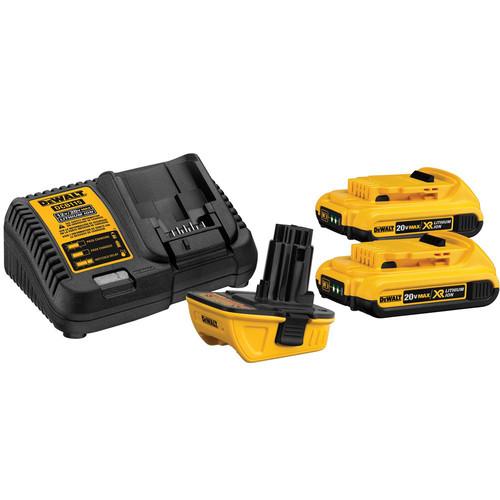 Dewalt DCA2203C 20V MAX Lithium-Ion Battery Adapter Kit for 18V Cordless Tools
