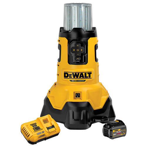 Dewalt DCL070T1 20V MAX Cordless Lithium-Ion Bluetooth LED Large Area Light Kit