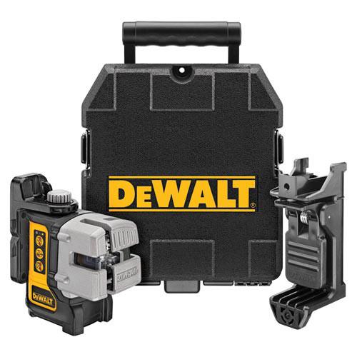 Dewalt DW089K Self-Leveling 3 Beam Line Laser Kit