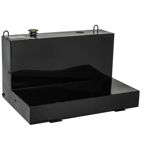 Delta 488002 76 Gallon Low-Profile L-Shaped Steel Liquid Transfer Tank - Black