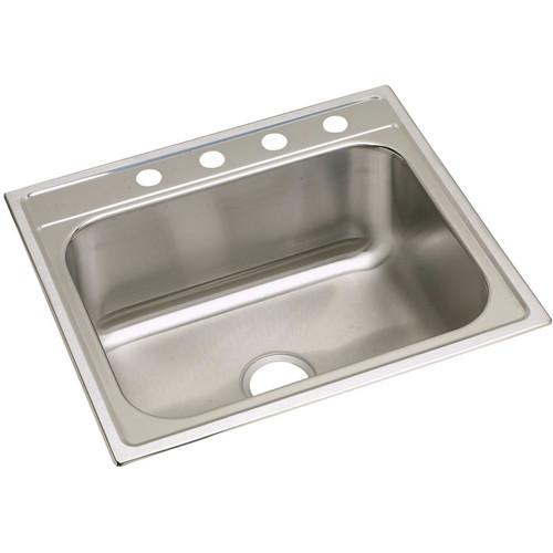 Elkay DPC12522104 Dayton Top Mount 25 in. x 22 in. Single Bowl Sink (Stainless Steel)
