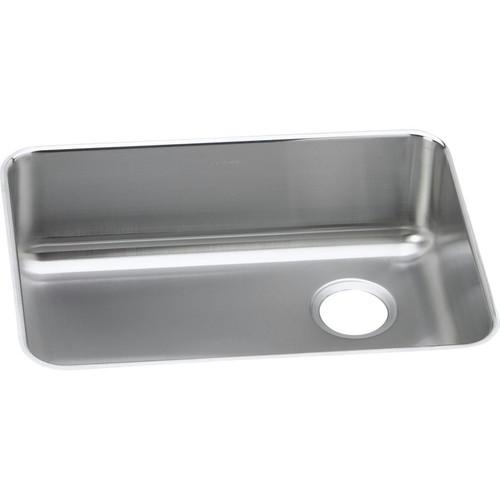 Elkay ELUH2317R Lustertone Undermount 25-1/2 in. x 19-1/4 in. Single Bowl Sink (Stainless Steel)