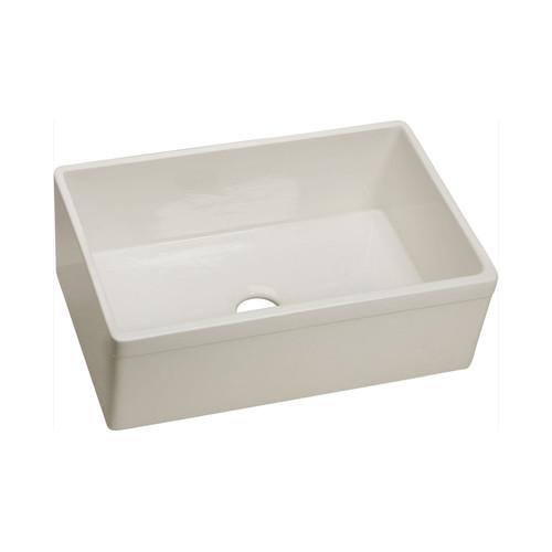 Elkay SWUF28179BI Explore Undermount 29 in. x 19-3/4 in. Single Basin Kitchen Sink (Biscuit)