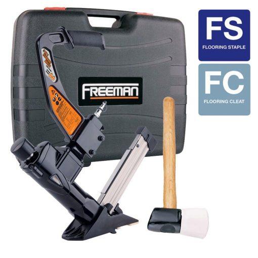 Freeman 3-in-1 Flooring Air Nailer and Stapler