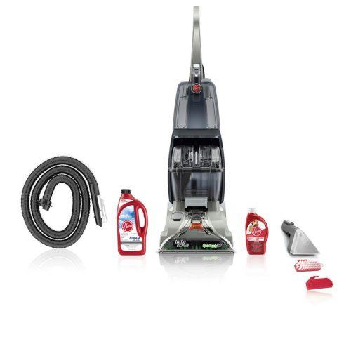 Hoover Turbo Scrub Upright Carpet Cleaner Expert Pet Bundle