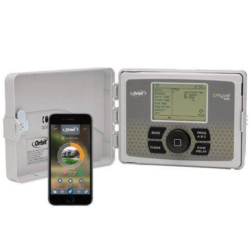 Orbit B-hyve 12-Zone Indoor/Outdoor Smart Sprinkler Controller, Works with Amazon Alexa