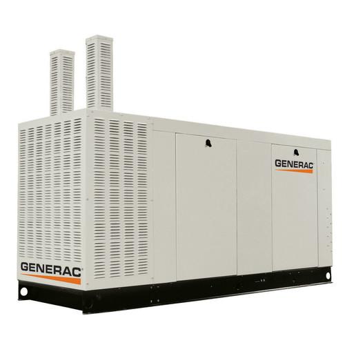 Generac QT10068ANAC Liquid-Cooled 6.8L 100kW 120/240V Single Phase Natural Gas Aluminum Commercial Generator (CARB)
