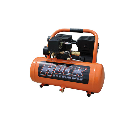 Hulk HP01P002SS 1 HP 2 Gallon Silent Air Portable Compressor
