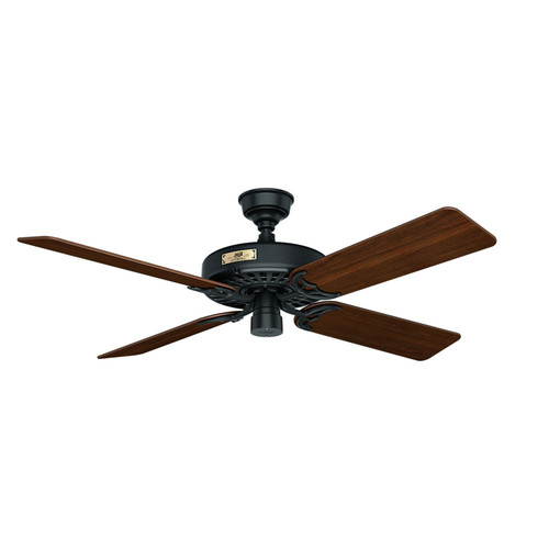 Hunter 23838 52 in. Outdoor Original Black Ceiling Fan
