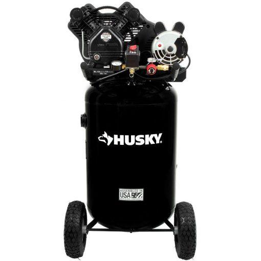 Husky 30 Gal. 155 PSI Ultra-Quiet Portable Electric Air Compressor