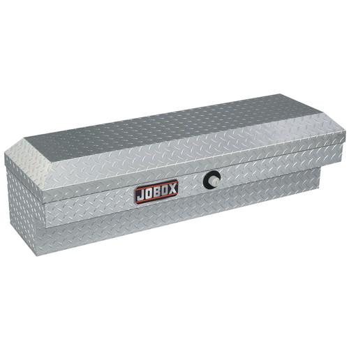 JOBOX JAN1444980 47 in. Long Aluminum Innerside Truck Box (ClearCoat)