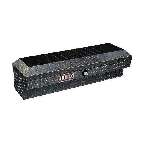 JOBOX JAN1444982 47 in. Long Aluminum Innerside Truck Box (Black)