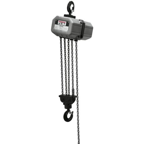 JET 5SS-1C-15 5 Ton Capacity 15 ft. 1-Phase Electric Chain Hoist