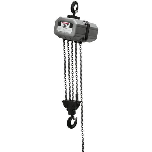 JET 5SS-3C-15 5 Ton Capacity 15 ft. 3-Phase Electric Chain Hoist