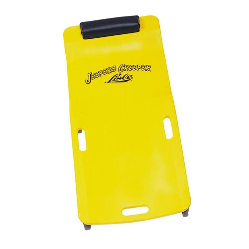 Lisle 93102 250 - 300 lb. Capacity Low Profile Plastic Creeper (Yellow)