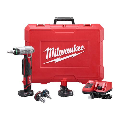 Milwaukee 2432-22XC M12 ProPEX Li-Ion Expansion Tool Kit with 2 XC Batteries