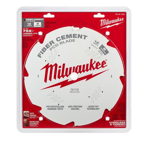 Milwaukee 48-40-7020 12 in. PCD/Fiber Cement Circular Saw Blade
