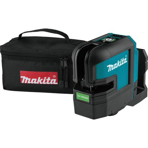 Makita SK105GDZ 12V MAX CXT Lithium-Ion Cordless Self-Leveling Cross-Line Green Beam Laser (Bare Tool)