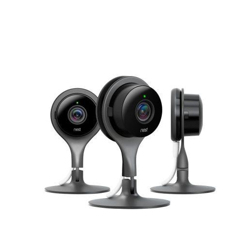 Nest Cam Indoor Smart Wi-Fi Security Camera (3-Pack)