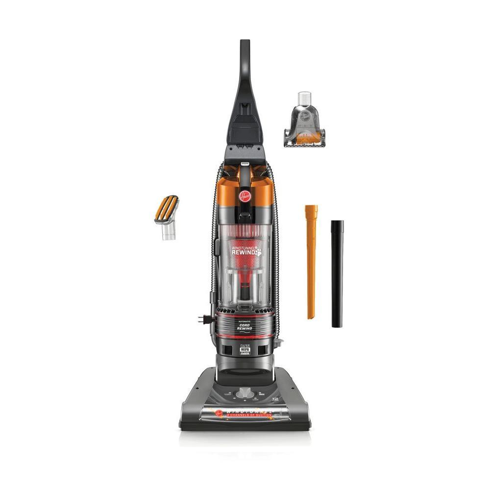 Hoover WindTunnel 2 Pet Rewind Bagless Upright Vacuum Cleaner in Orange