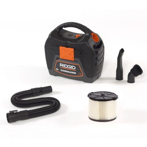 RIDGID 3 Gal. 18-Volt Cordless Handheld Wet Dry Vac