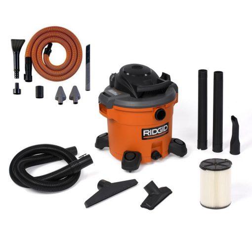 RIDGID 12 Gal. 5.0-Peak HP Wet Dry Vac with Auto Detail Kit