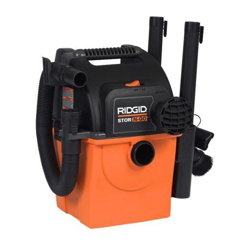 RIDGID Stor-N-Go 5 Gal. 5.0-Peak HP Wet Dry Vac