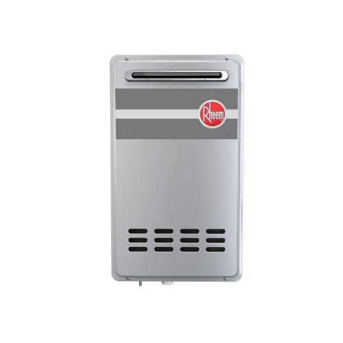 Rheem RTG-84XLP-1 8.4 GPM Outdoor Tankless Low Nox Water Heater (LP)