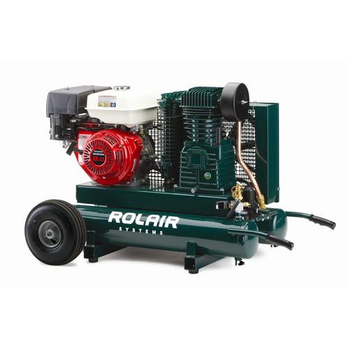 Rolair 7722HK28-0001 20 Gallon 270cc 9 HP Portable Belt Drive Air Compressor