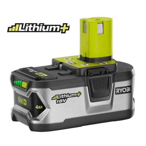 Ryobi 18-Volt ONE+ Lithium+ Lithium-Ion High Capacity 4.0Ah Battery Pack