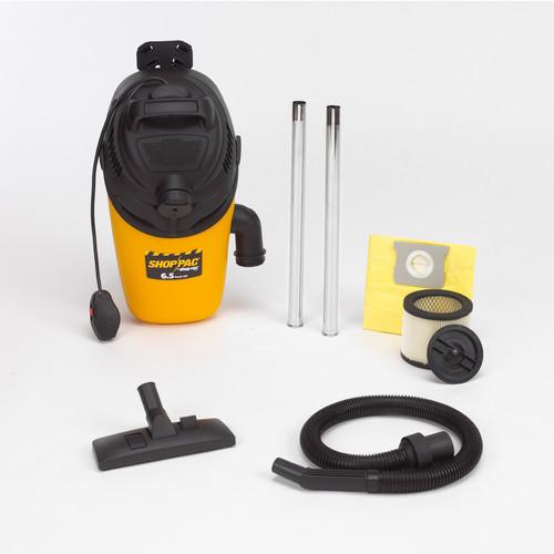 Shop-Vac 2860010 4 Gallon 6.5 Peak HP ShopPac Back Pack Dry Vacuum