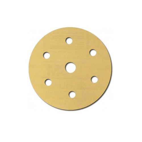 3M 1073 6 in. P400A Hookit Gold Disc D/F (100-Pack)