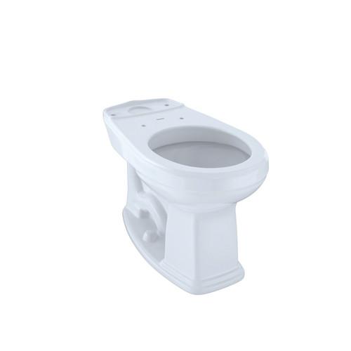 TOTO C423EFG#01 Eco Promenade Round Toilet Bowl (Cotton White)