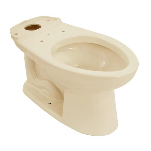 TOTO C744E#03 Drake Elongated Floor Mount Toilet Bowl (Bone)
