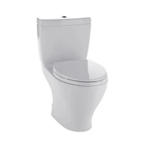 TOTO CST416M#11 Aquia II Elongated 2-Piece Floor Mount Toilet (Colonial White)