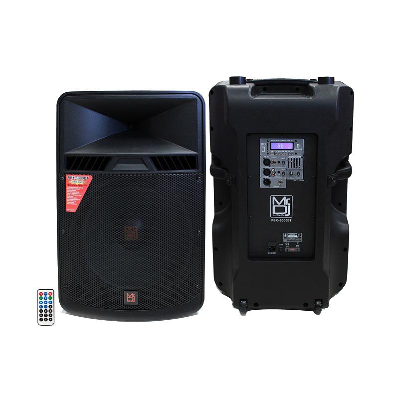 """Mr. Dj PBX5000BT 18"""" Portable Full Range Speaker"""