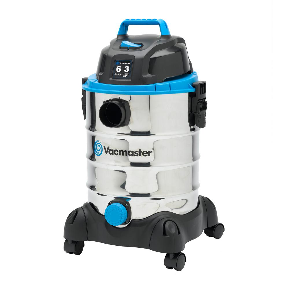 Vacmaster 6-gal. Stainless Steel Wet/Dry Vac with Blower Function