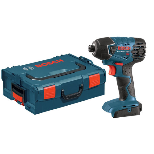 Bosch 25618BL-RT 18V Impact Driver (Bare Tool) with L-Boxx-2 and Exact-Fit Tool Insert Tray