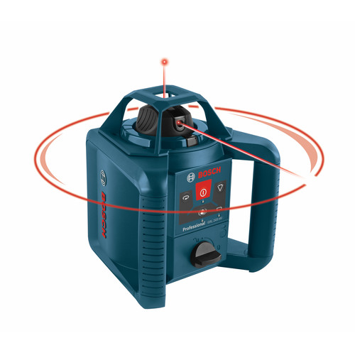 Factory Reconditioned Bosch GRL245HVCK-RT Factory Reconditioned Self-Leveling NiMH Horizontal & Vertical Rotary Laser Kit