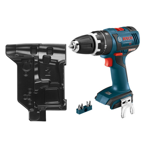 Bosch HDS182BN-RT 18V Lithium-Ion 1/2 in. Brushless Compact Tough Hammer Drill Driver (Bare Tool) with L-BOXX Insert Tray