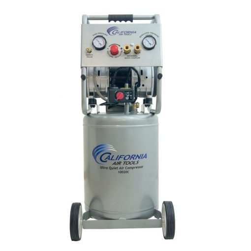 California Air Tools 10 Gal. 2.0 HP Ultra Quiet and Oil-Free Electric Air Compressor with Auto Drain Valve