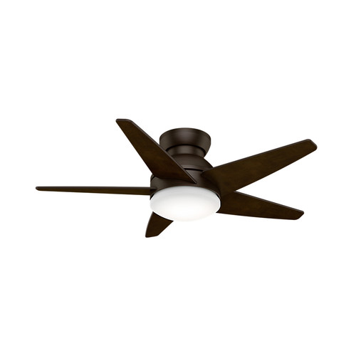 Casablanca 59352 44 in. Isotope Brushed Cocoa Ceiling Fan with Light and Wall Control
