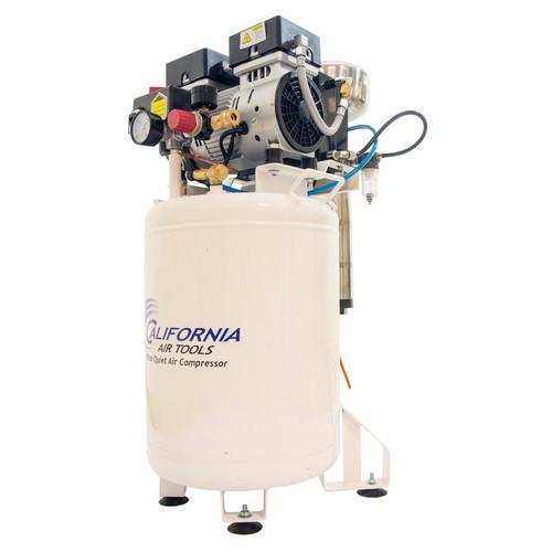 California Air Tools 10020DCAD 2 HP 10 Gallon Ultra Quiet Steel Tank Air Compressor