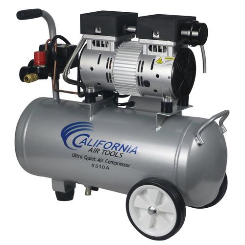 California Air Tools 5510A 1 HP 5.5 Gallon Ultra Quiet Aluminum Tank Air Compressor