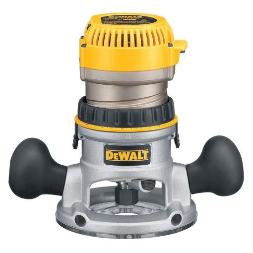 DEWALT 2-1/4 HP EVS Fixed Base Router with Soft Start